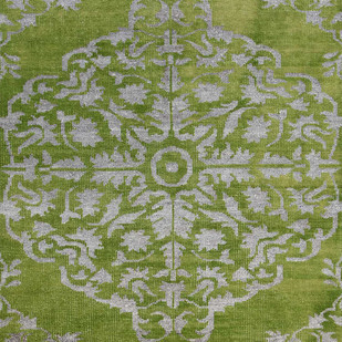 """5X8"" Hand Knotted Transitional Wool & Viscose Rug Carpet and Rug By Jaipur Rugs"