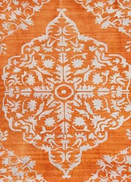 5X8 Hand Knotted Transitional Wool & Viscose Rug Carpet and Rug By Jaipur Rugs