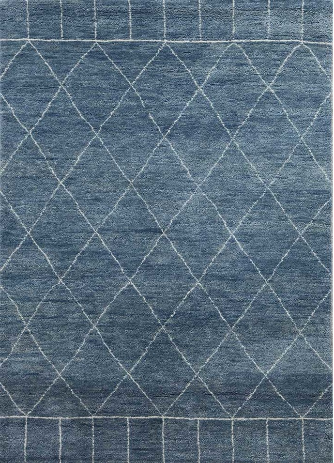 Indian Handmade Rugs 4x6 Hand Knotted Modern Wool Rugs Carpet And
