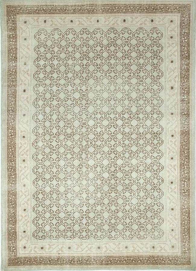 Indian Handmade Rugs 5X8 Hand Knotted Classic Wool Rugs Carpet and Rug By Jaipur Rugs