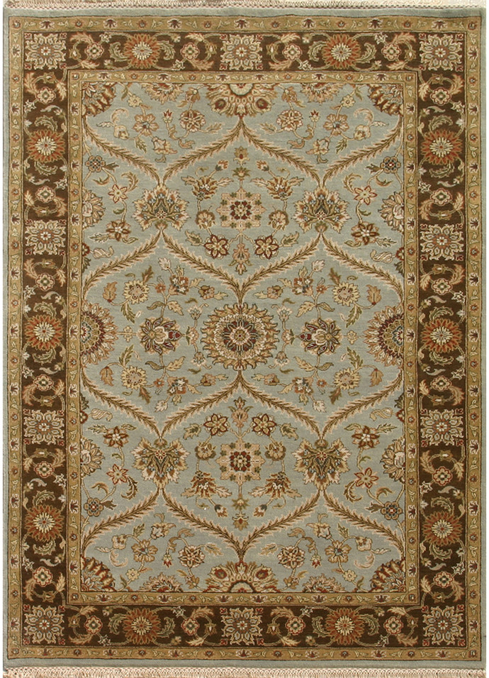 green handmade knotted indian for rug pink carpet wool rugs persian sale hand