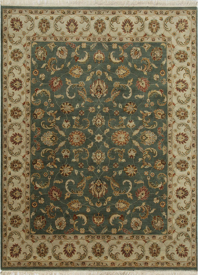 Indian handmade rugs 4x6 hand knotted classic wool rugs for Home inspired by india rug