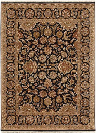 Indian Handmade Rugs 4X6 Hand Knotted Classic Wool Rugs Carpet and Rug By Jaipur Rugs
