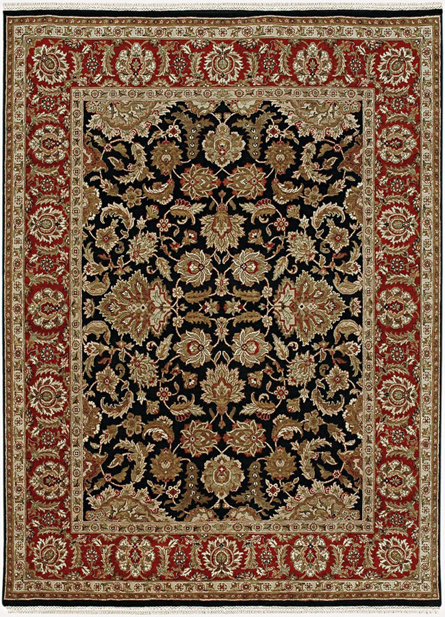 Indian Handmade Rugs 4x6 Hand Knotted Classic Wool Rugs