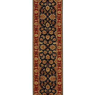 2'6X10 Hand Knotted Classic Wool Rug Carpet and Rug By Jaipur Rugs