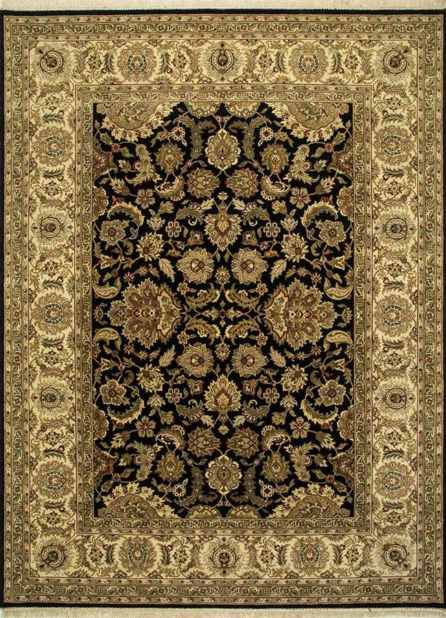 4X6 Hand Knotted Classic Wool Rug Carpet and Rug By Jaipur Rugs