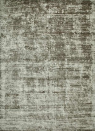 5X8 Hand Loom Solids Viscose Rugs by Jaipur Rugs, Contemporary Carpet and Rug, Viscose, Brown color