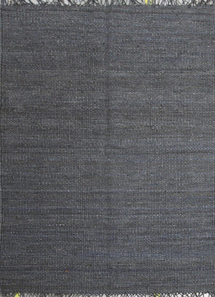 Indian Handmade Rugs 6X9 Flat Weaves Flat Weave Hemp Rugs by Jaipur Rugs, Contemporary Carpet and Rug, Jute, Gray color