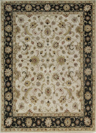 Indian Handmade Rugs 4X6 Hand Tufted Classic Wool Rugs Carpet and Rug By Jaipur Rugs