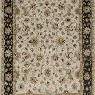 6X9 Hand Tufted Classic Wool Rugs Carpet and Rug By Jaipur Rugs