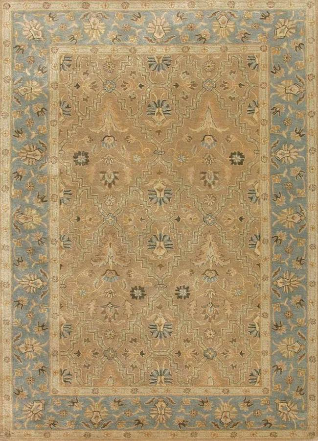Indian Handmade Rugs 5X8 Hand Tufted Classic Wool Rugs Carpet and Rug By Jaipur Rugs