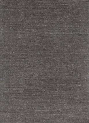 5X8 Hand Loom Solid Wool Rug by Jaipur Rugs, Contemporary Carpet and Rug, Wool, Gray color