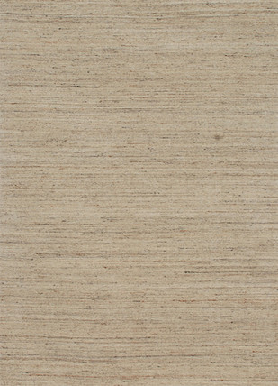 5X8 Hand Loom Solid Wool Rug by Jaipur Rugs, Contemporary Carpet and Rug, Wool, Beige color