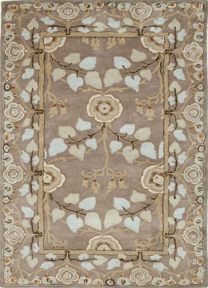 5X8 Hand Tufted Classic Wool Rugs Carpet and Rug By Jaipur Rugs