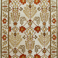 5X8 Hand Tufted Classic Wool Rug by Jaipur Rugs, Contemporary Carpet and Rug, Wool, Beige color