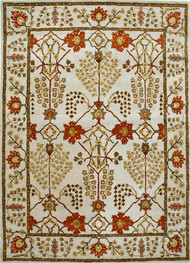 5X8 Hand Tufted Classic Wool Rug Carpet and Rug By Jaipur Rugs
