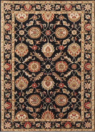 8X10 Hand Tufted Classic Wool Rug by Jaipur Rugs, Contemporary Carpet and Rug, Wool, Brown color