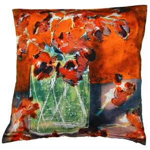 Shubha Gokhale Cushion Cover2 Cushion Cover By indian-colours