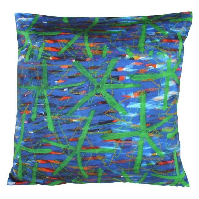 Soumen Das Cushion Cover2 Cushion Cover By indian-colours