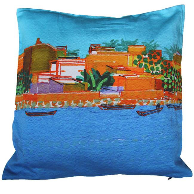 Soumen Das Cushion Cover1 Cushion Cover By indian-colours