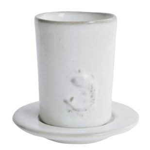TIMMY TUMBLER WITH SAUCER(SET OF 2) by Ikka Dukka Studio Pvt Ltd, Contemporary Kitchen Ware