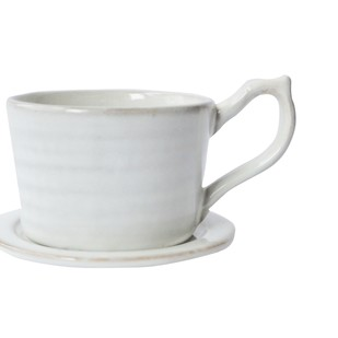 CARA CUP & SAUCER(SET OF 2) by Ikka Dukka Studio Pvt Ltd, Contemporary Kitchen Ware