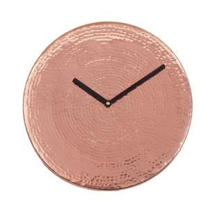 Wall O Clock - Copper Clock By Studio Saswata
