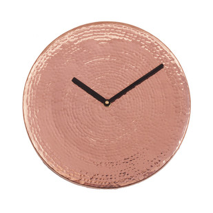 Wall O Clock - Copper Clock By Studio Saswata