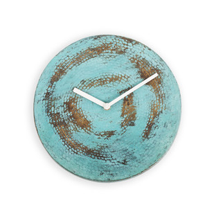 Wall O Clock - VerdiGris Clock By Studio Saswata