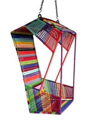 Hang Rickshaw Swing - Multicolor Furniture By Sahil & Sarthak