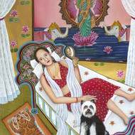 The goddess of wealth 48x36
