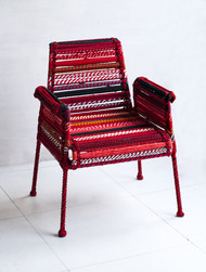 Stork chair in red by sahil   sarthak