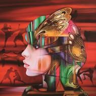 Dharmendra rathore  crimson warriors  acrylic   oil on canvas 2013 54x54