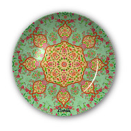 "Ornate Mughal Decorative Plate 10"" Wall Decor By Kolorobia"