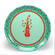 "Babur Decorative Plate 10"" Wall Decor By Kolorobia"