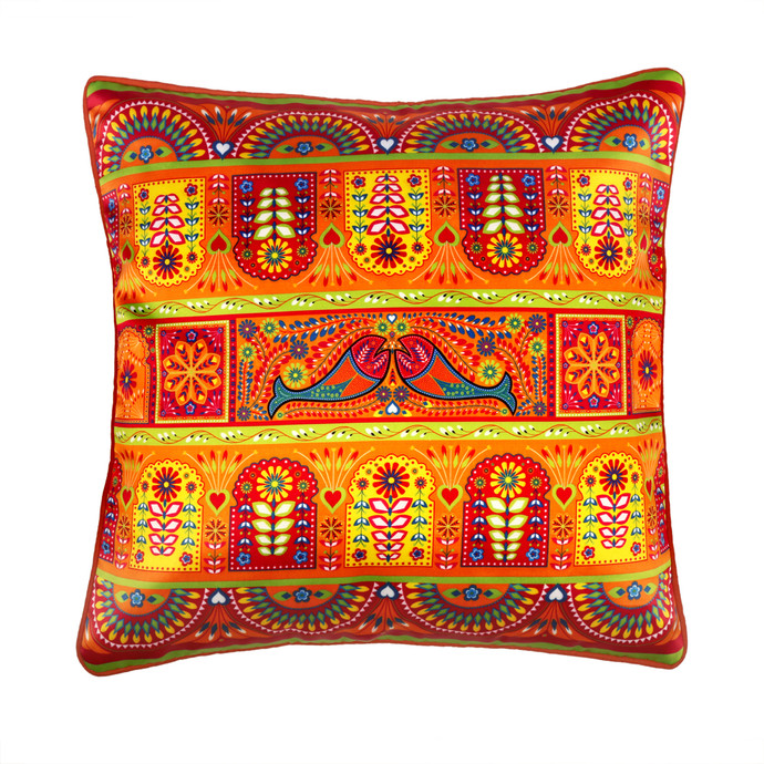 Truck Art Cushion Cover Cushion Cover By Kolorobia