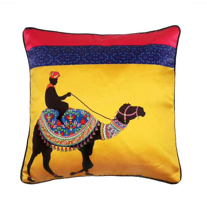 Camel Glory Cushion Cover Cushion Cover By Kolorobia