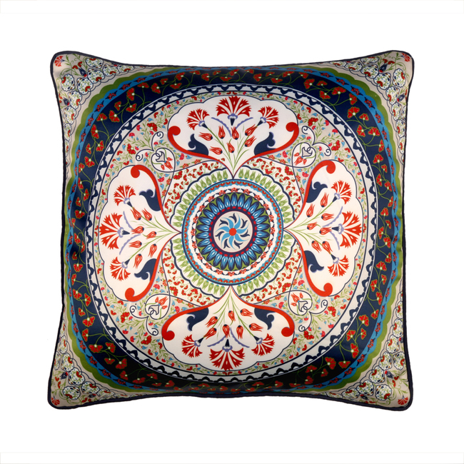 Turkish Fervor Cushion Cover Cushion Cover By Kolorobia
