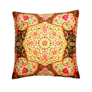 Mughal Blooms Cushion Cover Cushion Cover By Kolorobia