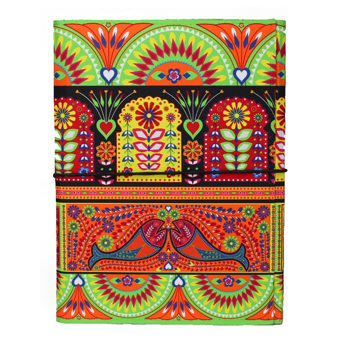 Truck Art A5 Journal Notebook By Kolorobia Merchandise