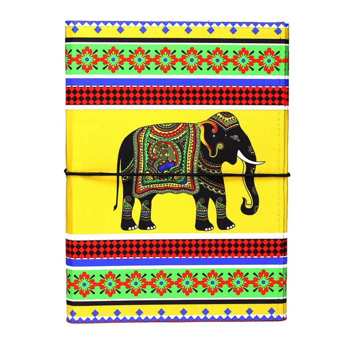 Elephant Majesty A5 Journal Notebook By Kolorobia
