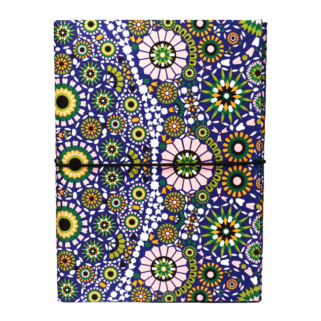 Moroccan Inspiration A5 Journal Notebook By Kolorobia