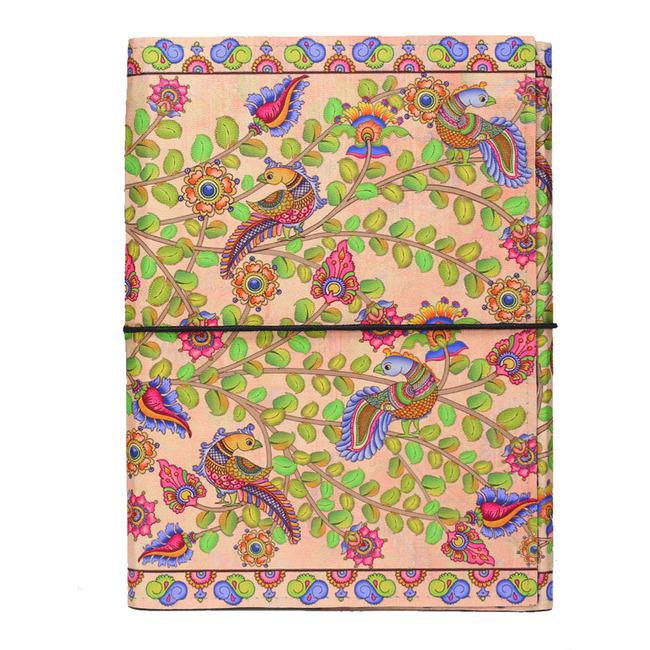Kalamkari Finesse A5 Journal Notebook By Kolorobia