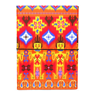 Dazzling Ikat A5 Journal Notebook By Kolorobia