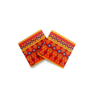 Dazzling Ikat Wooden Coasters Coaster Set By Kolorobia