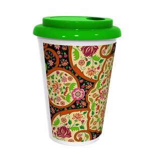 Mughal Blooms Coffee Mug Coffee Mug By Kolorobia
