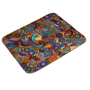 Peacock Admiration Mouse Pad Mousepad By Kolorobia