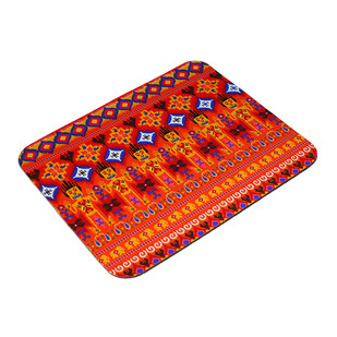 Dazzling Ikat Art Mouse Pad Mousepad By Kolorobia