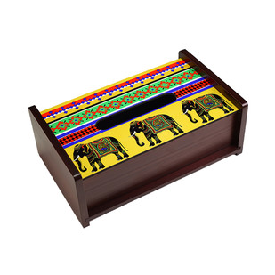 Elephant Majesty Tissue Box Tissue Box By Kolorobia