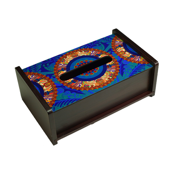 Egyptian Tranquility Tissue Box Tissue Box By Kolorobia